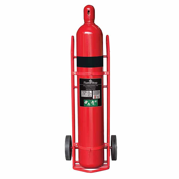 Mobile Extinguisher 45KG CO2